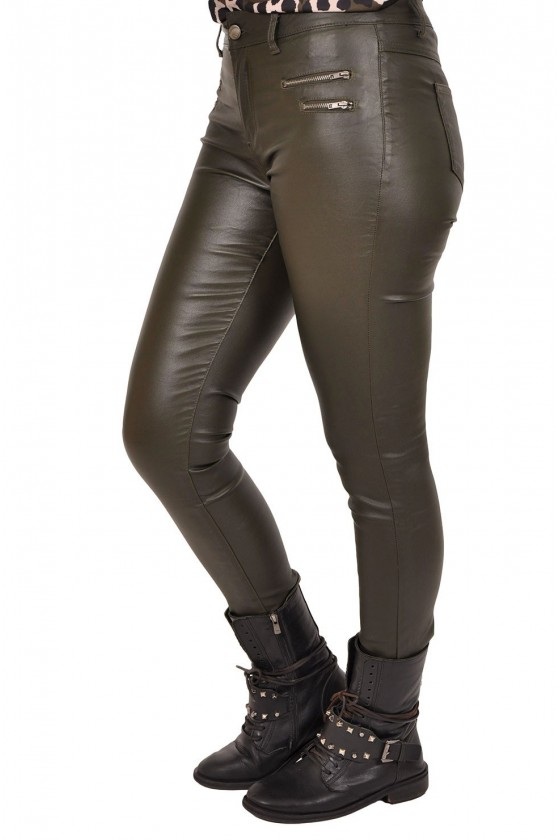 Coated broek Crazy Lover army
