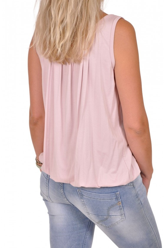 Basic topje always good roze