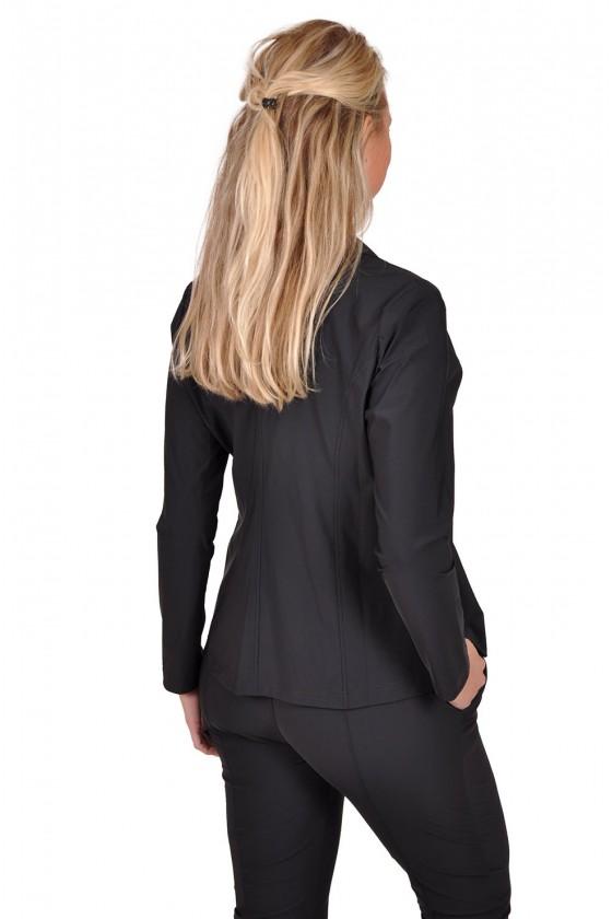 Travelstof blazer Triple Nine exclusive zwart