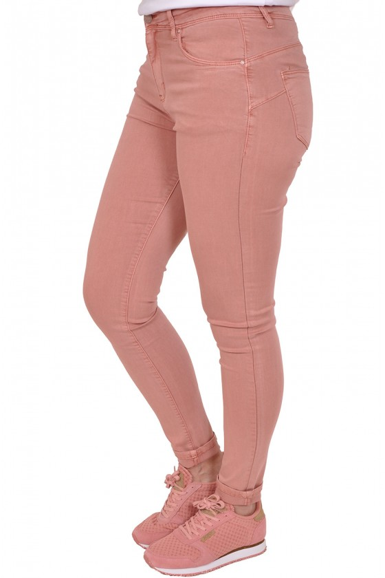 Norfy push up stretch jeans roze NORFY