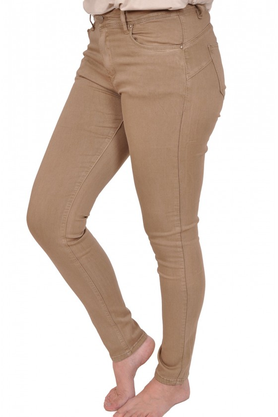 Norfy push up stretch jeans taupe NORFY