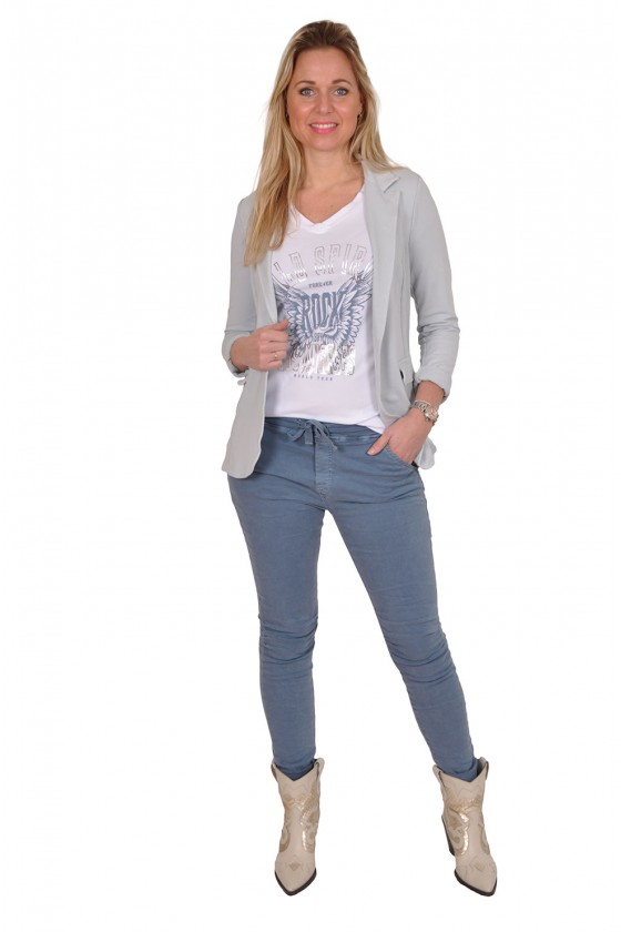 Melly&Co stretch jeans blauw