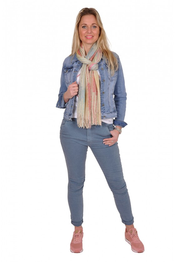 Melly&Co stretch jeans blauw MELLY&CO