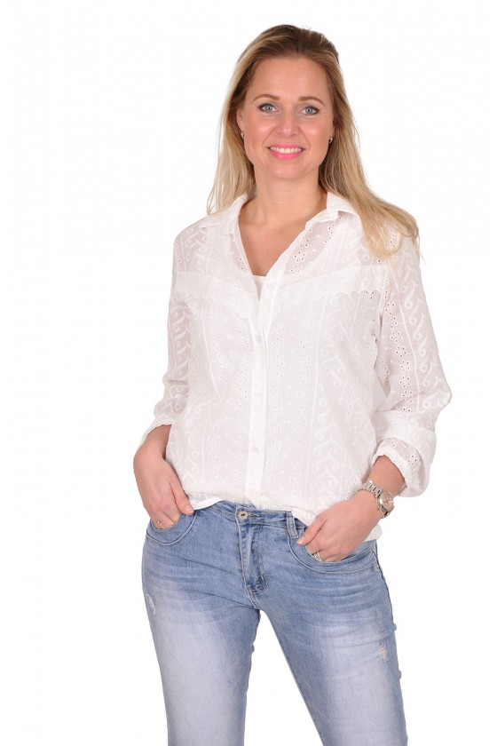 Broderie blouse Savinni Savinni