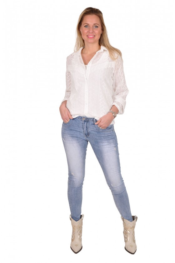 Broderie blouse Savinni