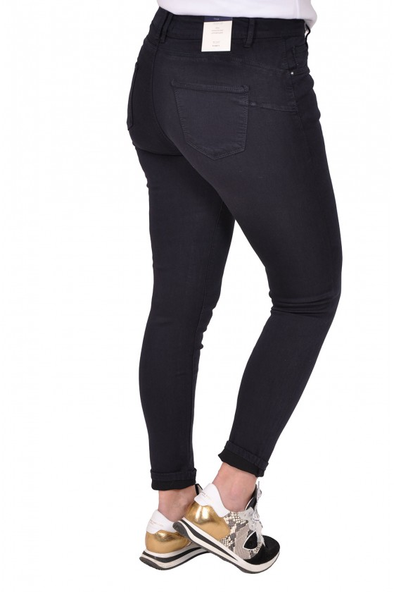 Norfy push up stretch jeans navy