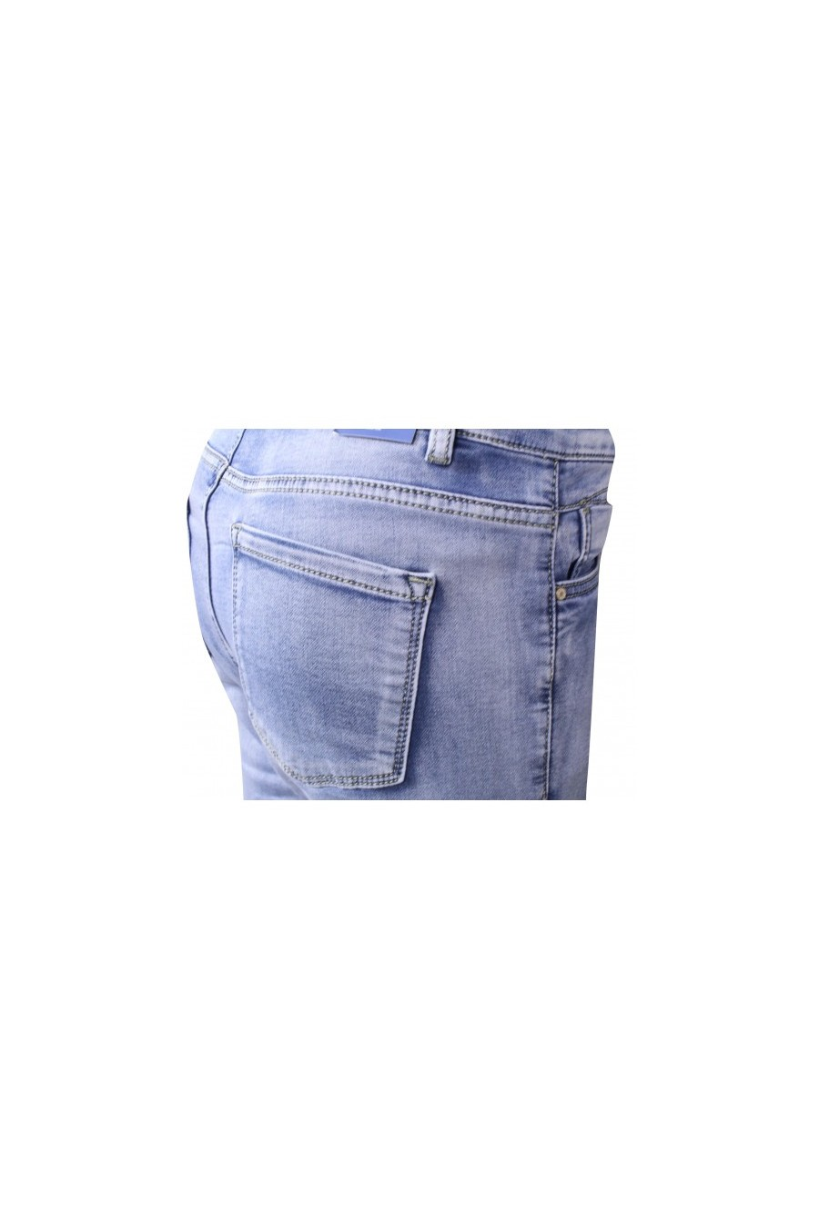 Norfy stretch jeans lichte washing Norfy
