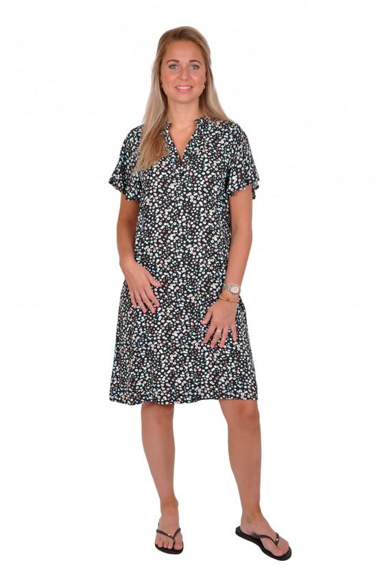 All-over print viscose jurk madelief Savinni Savinni