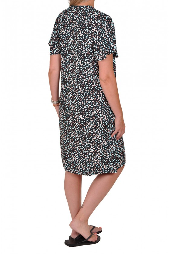 All-over print viscose jurk madelief Savinni
